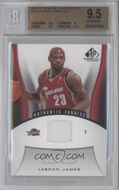2006-07 SP Game Used Edition - [Base] #116 - Lebron James [BGS9.5]