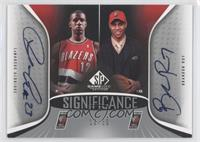 LaMarcus Aldridge, Brandon Roy /50