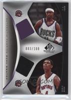 T.J. Ford, Chris Bosh /100