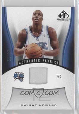 2006-07 SP Game Used Edition Authentic Fabrics Patch #171 - Dwight Howard /25