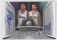 Metta World Peace, Peja Stojakovic /50