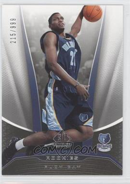 2006-07 SP Game Used Edition #208 - Rudy Gay /999