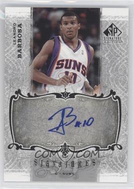 2006-07 SP Signature Edition - Signatures - [Autographed] #SPS-BA - Leandro Barbosa