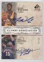 Marvin Williams, Vince Carter /50