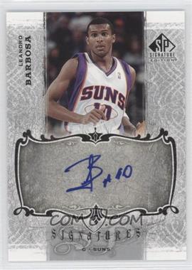 2006-07 SP Signature Edition Signatures [Autographed] #SPS-BA - Leandro Barbosa