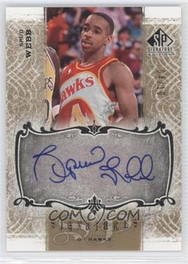2006-07 SP Signature Edition Signatures Gold [Autographed] #SPS-WE - Spud Webb /10