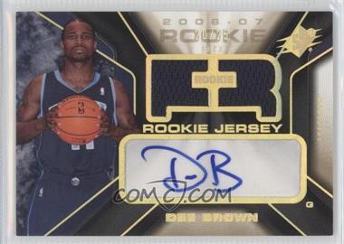 2006-07 SPx Spectrum #134 - Dee Brown /25