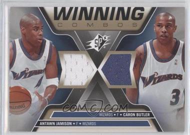2006-07 SPx Winning Combos #WC-JB - Antawn Jamison, Caron Butler