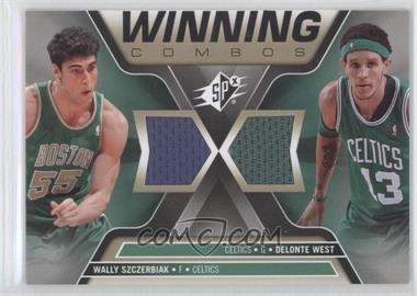 2006-07 SPx Winning Combos #WC-SW - Wally Szczerbiak, Delonte West