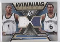 Rashad McCants, Bracey Wright