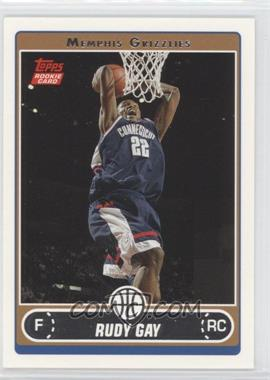 2006-07 Topps - [Base] #252 - Rudy Gay