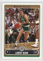 Larry Bird (Green Jersey Driving)