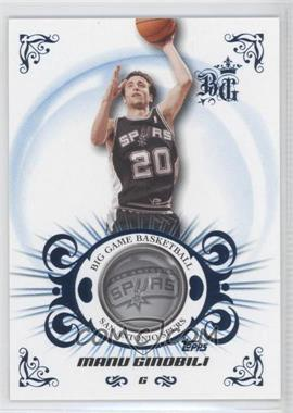 2006-07 Topps Big Game Blue #55 - Manu Ginobili /59