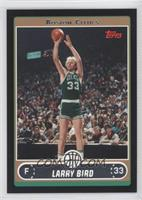 Larry Bird (Base, Green Jersey Shooting with Crowd) /99