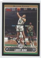 Larry Bird (White Jersey Rebounding vs. Sonics) /99