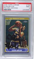 Elgin Baylor [PSA/DNA Certified Auto]
