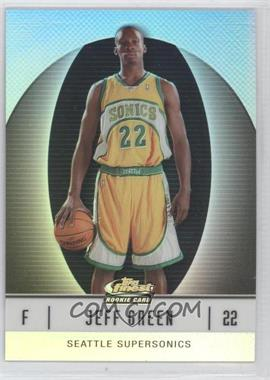 2006-07 Topps Finest - [Base] - White Refractor #105 - Jeff Green /319