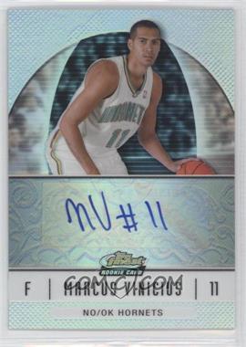 2006-07 Topps Finest Rookie Refractor Autograph [Autographed] #75 - Marcus Vinicius