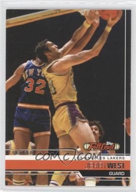 2006-07 Topps Full Court - [Base] #96 - Jerry West
