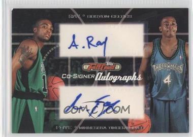 2006-07 Topps Full Court - Co-Signers Autographs #CS-26 - Randy Foye, Allan Ray