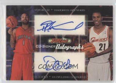 2006-07 Topps Full Court - Co-Signers Autographs #CS-32 - P.J. Tucker, Daniel Gibson