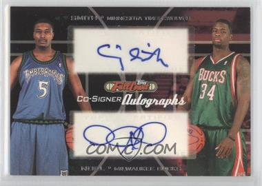 2006-07 Topps Full Court - Co-Signers Autographs #CS-42 - David Noel, Craig Smith