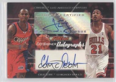 2006-07 Topps Full Court Co-Signers Autographs #CS-18 - Daniel Ewing, Chris Duhon