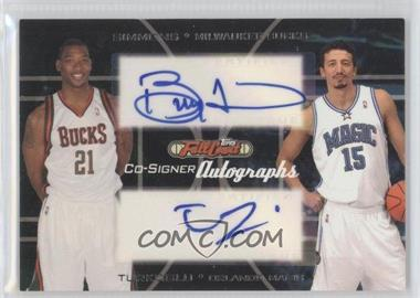 2006-07 Topps Full Court Co-Signers Autographs #CS-20 - Bobby Simmons, Hedo Turkoglu