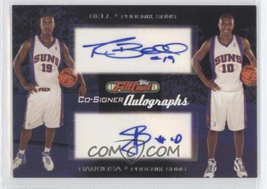 2006-07 Topps Full Court Co-Signers Autographs #CS-23 - Raja Bell, Leandro Barbosa