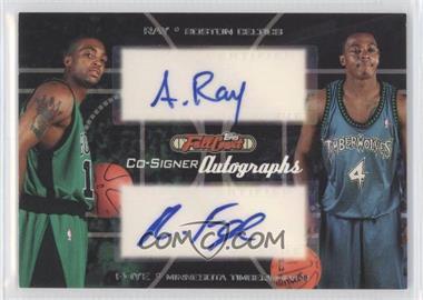 2006-07 Topps Full Court Co-Signers Autographs #CS-26 - Randy Foye, Allan Ray