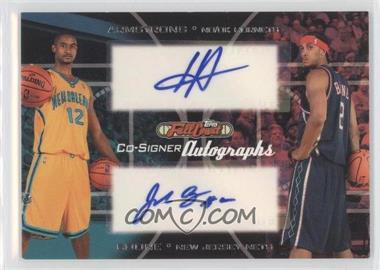 2006-07 Topps Full Court Co-Signers Autographs #CS-28 - Hilton Armstrong, Josh Boone