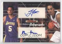 Jordan Farmar, Ryan Hollins