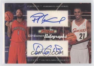 2006-07 Topps Full Court Co-Signers Autographs #CS-32 - P.J. Tucker, Daniel Gibson