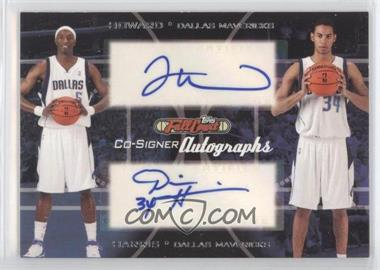 2006-07 Topps Full Court Co-Signers Autographs #CS-35 - Devin Harris, Josh Howard