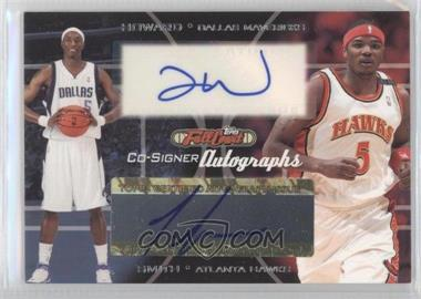 2006-07 Topps Full Court Co-Signers Autographs #CS-36 - Josh Howard, Josh Smith