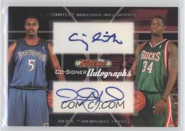 2006-07 Topps Full Court Co-Signers Autographs #CS-42 - David Noel, Craig Smith
