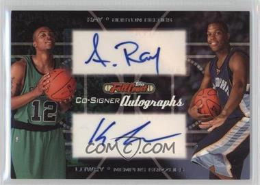 2006-07 Topps Full Court Co-Signers Autographs #CS-45 - Kyle Lowry, Allan Ray