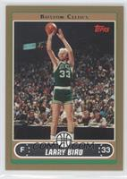 Larry Bird (Base, Green Jersey Shooting with Crowd) /500