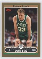 Larry Bird (Green Jersey Resting with Hands on Legs) /500