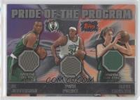 Al Jefferson, Paul Pierce, Dave Cowens