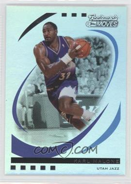 2006-07 Topps Trademark Moves Rainbow #96 - Karl Malone /149