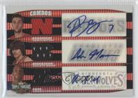Randy Foye, Adam Morrison, Andre Barrett /36