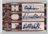 Bob Lanier, Bill Walton, Moses Malone /36