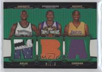 Amare Stoudemire, Kobe Bryant, Kevin Garnett /18