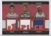 Allen Iverson, Tim Duncan, Yao Ming /36