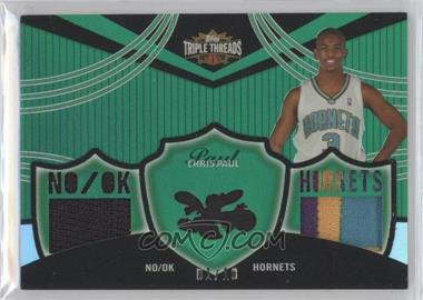 2006-07 Topps Triple Threads Relics Emerald #TTR-32 - Chris Paul /18