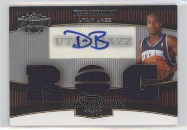 2006-07 Topps Triple Threads #101 - Dee Brown /99