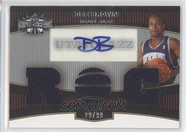 2006-07 Topps Triple Threads #101 - Dee Brown /99