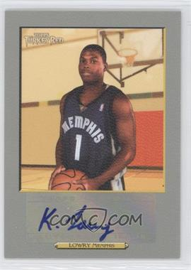 2006-07 Topps Turkey Red Autographs #TRA-KL - Kyle Lowry