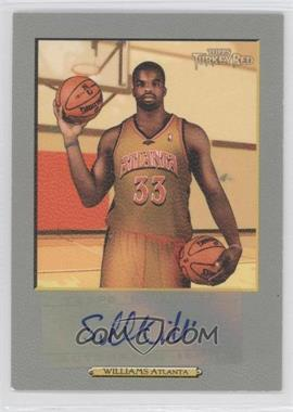 2006-07 Topps Turkey Red Autographs #TRA-SW - Shelden Williams
